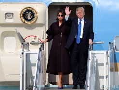 트럼프 美 대통령, 취임 후 첫 방한