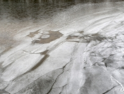 한강 71년만 가장 이른 결빙