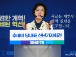 추미애 민주당 대표 신년 기자회견