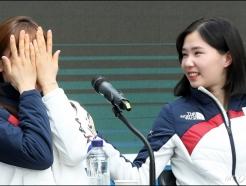 눈물 흘리는 맏언니 김아랑