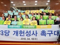 야3당 개헌성사 촉구대회