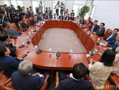 자유한국당 초선 회동...당 진로 논의