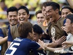 [월드컵] '수적 우위' 일본, 콜롬비아 빈틈 놓치지 않았다