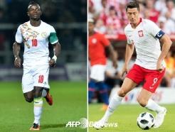 [월드컵] 폴란드-세네갈, 선발 공개..'레반도프스키vs마네'