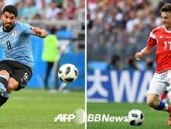 [월드컵] 우루과이-러시아, 선발 공개..'수아레즈 선발-골로빈 벤치'
