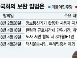 [MT리포트]도입 앞둔 '주 52시간제'…보완책 비상걸린 국회