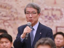 정운찬 KBO 총재, 국감 출석