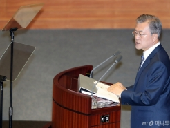문재인 대통령, 2019년 예산안 시정연설