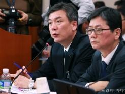 국회 출석한 정인수 코레일 부사장