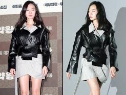 '마약왕' 배두나, 블랙 레더 재킷입고…각선미 '탄탄'