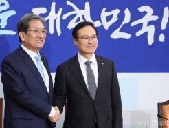 노영민 비서실장, 홍영표 원내대표 예방
