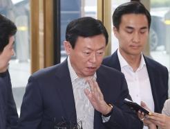 신동빈 롯데회장 '한일갈등 묵묵부답'