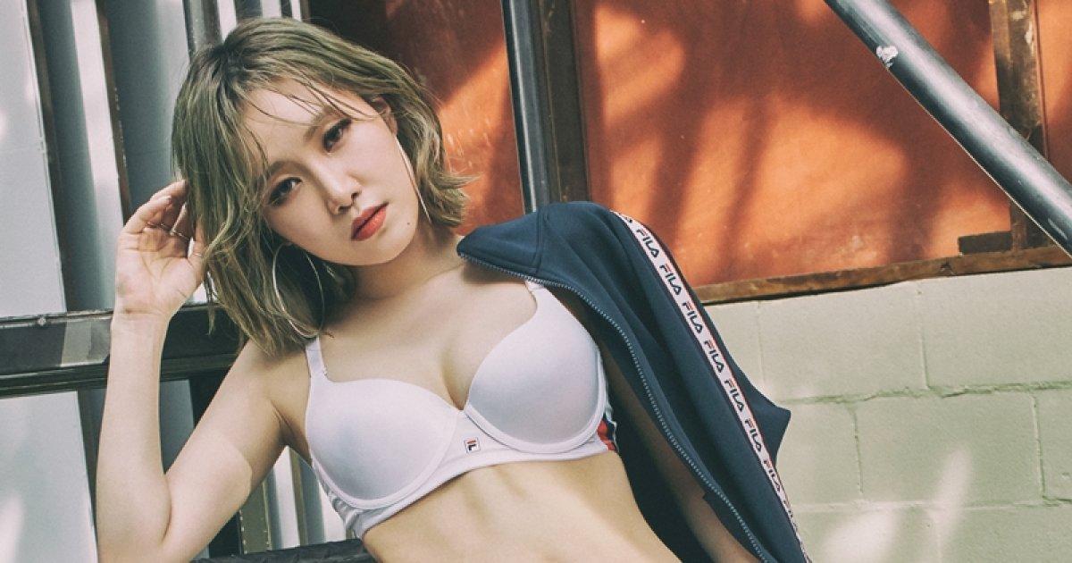 피에스타 예지, 힙한 언더웨어 화보…탄탄한 몸매 '눈길'