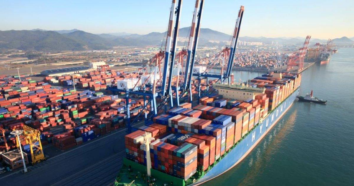 현대상선…'블록체인' 4차 산업 기술로 시험운항