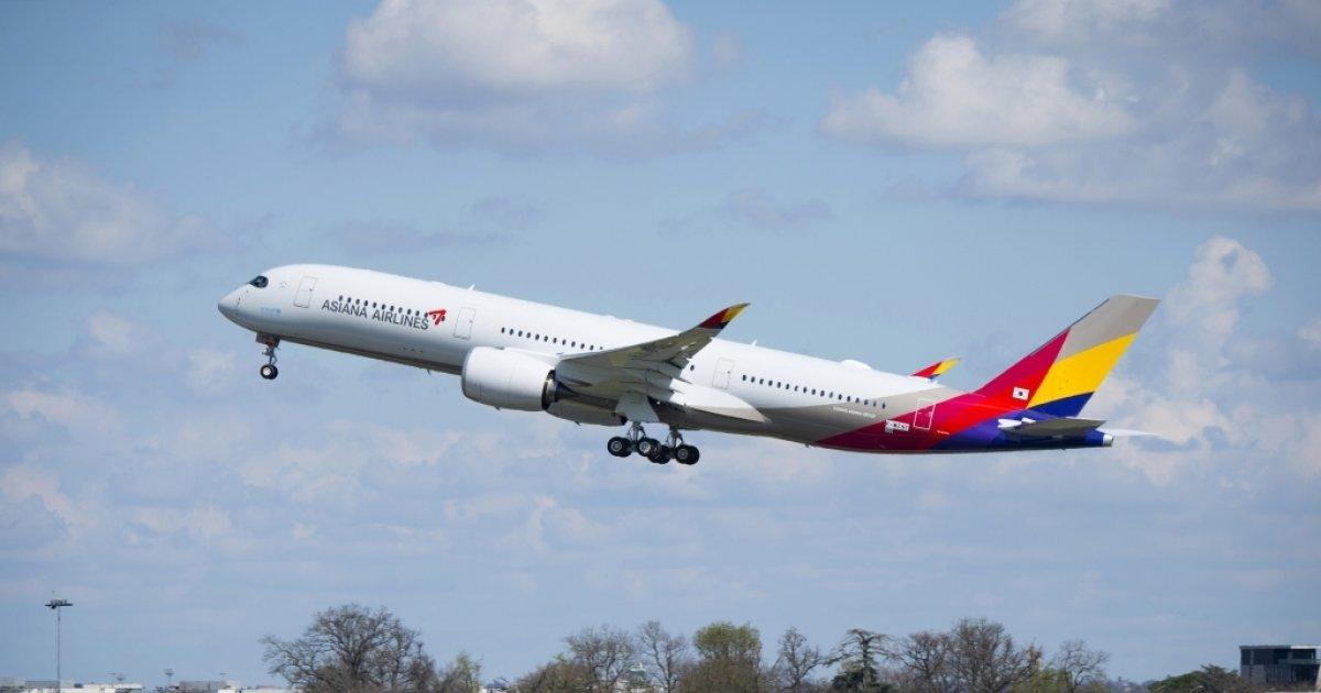 아시아나항공, 'A350' 3호기 도입