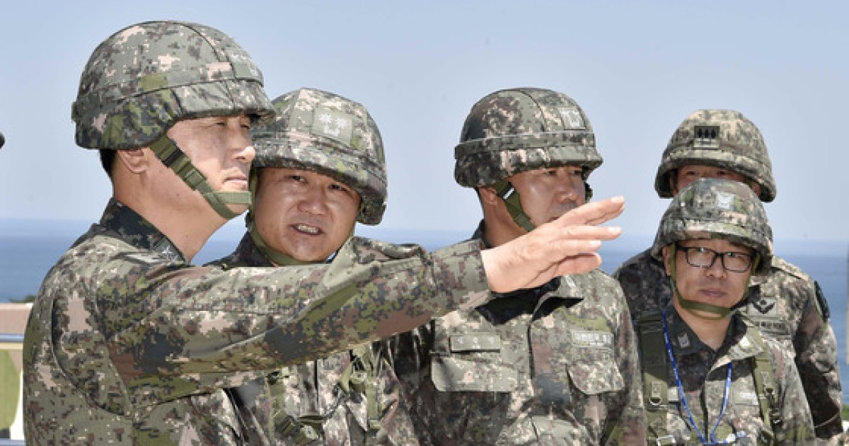 """엄현성 해군총장 """"韓 안보 지켜야 국민 평안히 쉴 수 있는 것"""""""