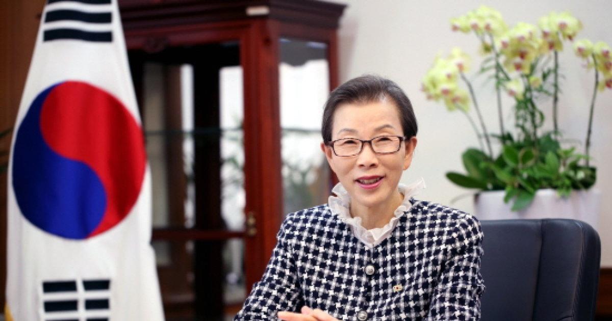 경인여대 김길자 총장, 몽골 교육부 장관 표창