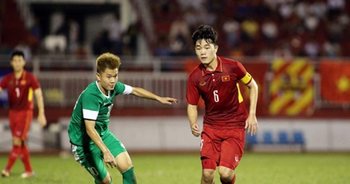 강원FC 쯔엉, 베트남 대표팀 5-0 대승을 이끌다