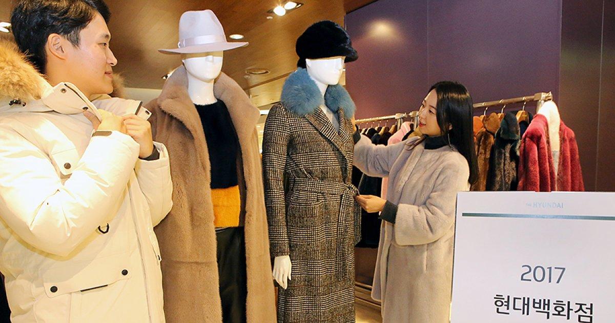 현대백화점, 역대 최대 할인전 '2017 아우터 페어' 진행