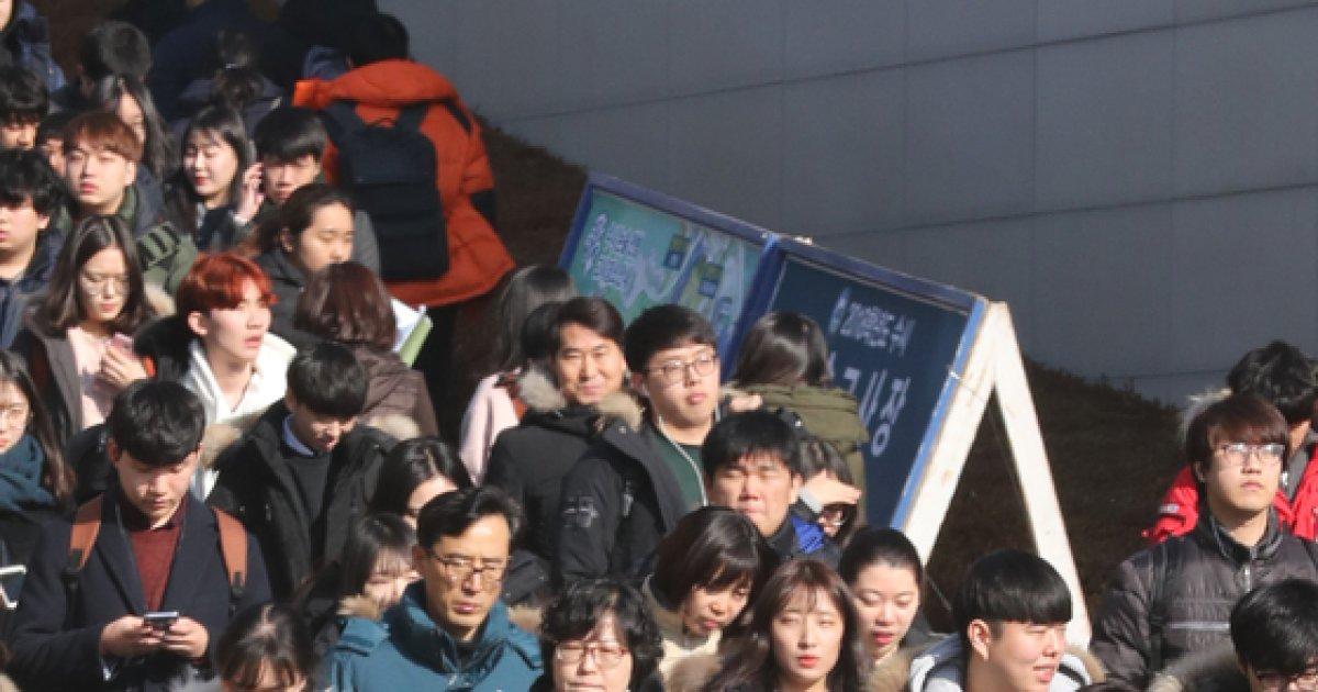 [사진]한양대학교 수시 논술고사