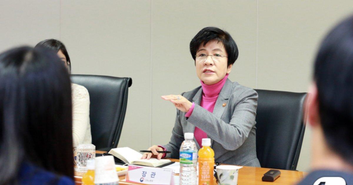[사진]한국사회적기업진흥원 찾은 김영주 장관