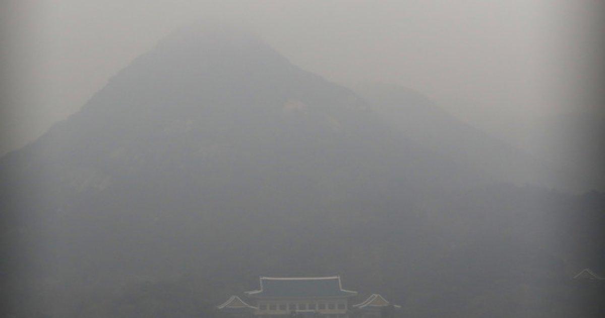 [사진]이틀 연속 발령된 미세먼지 비상저감조치