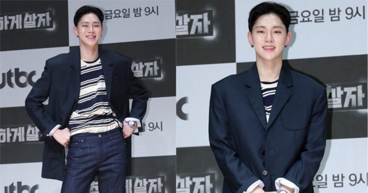 """'JBJ' 권현빈, 믹스매치 룩 '눈길'…""""모델 출신은 달라"""""""