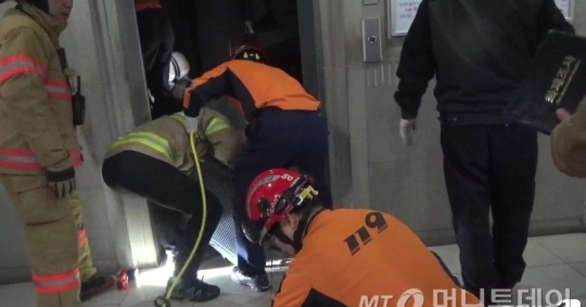 백화점 엘리베이터 2m 추락…60대 남성 사망
