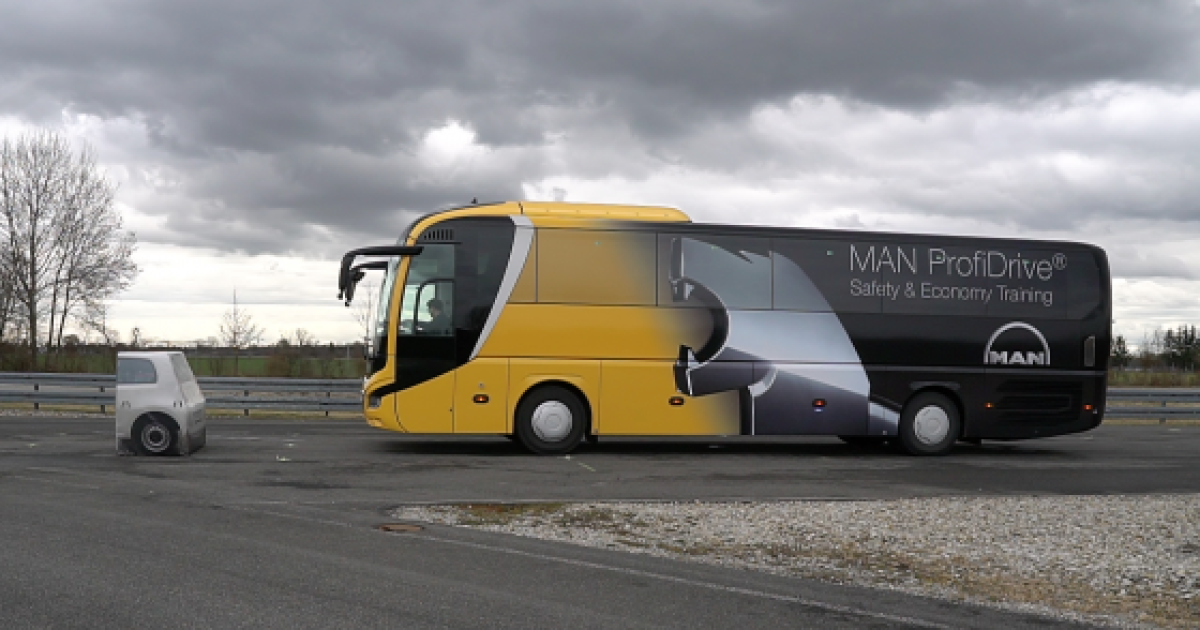 [시승기]대형면허로 몰아본 'MAN버스'…운전자·승객·보행자 모두 만족