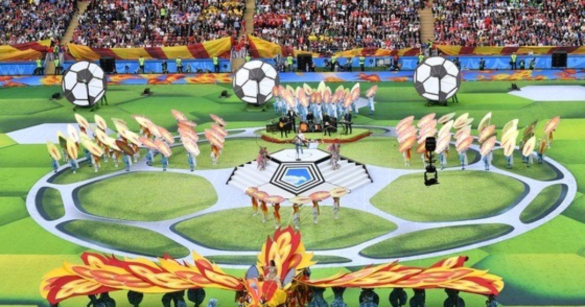 '러시아 월드컵' 시작…첫 경기 개최국 러시아 '대승'