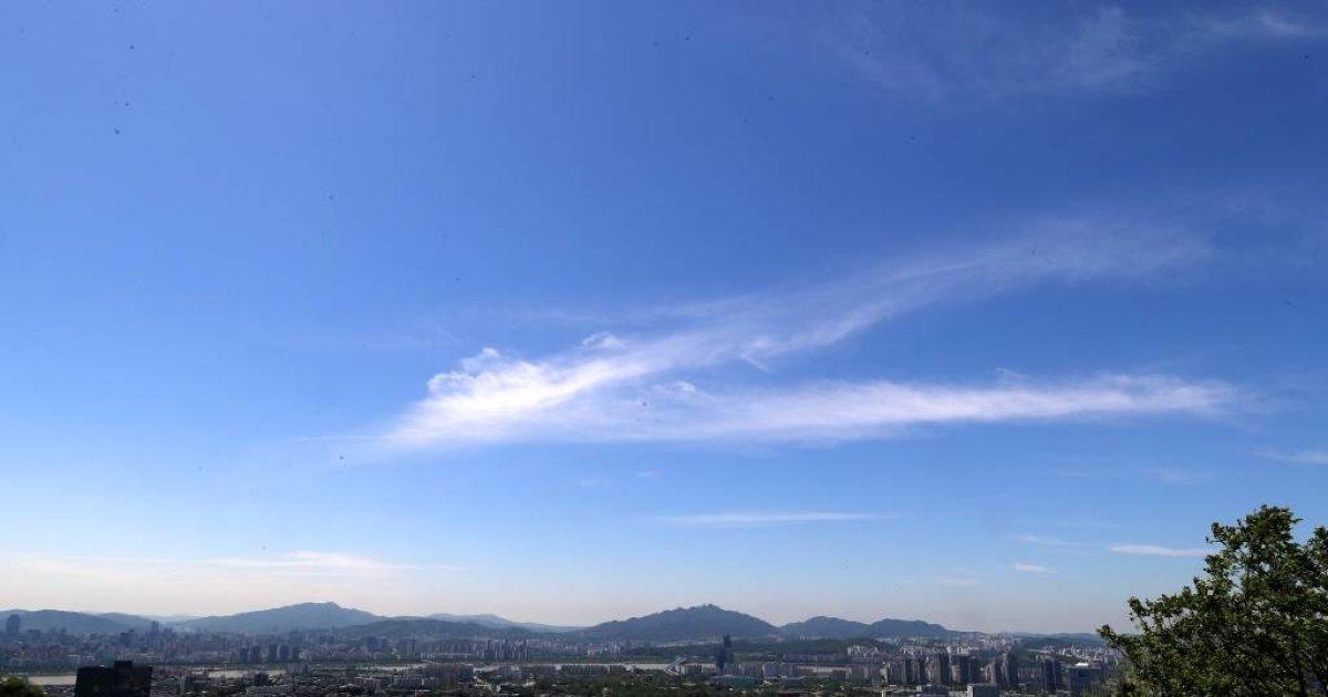 [내일 날씨]전국 하늘 '화창'…내륙 일부 30도↑