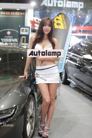 서울오토살롱 레이싱 모델 한소울