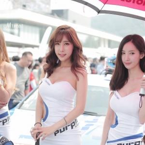 '레이싱모델 임민영' 청순자태