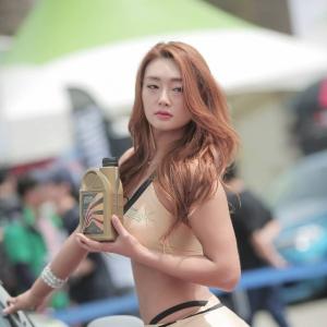 '레이싱모델 윤은지' 숨막히는 뒷태