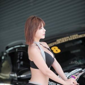 '레이싱모델 류지혜' 완벽한 S라인