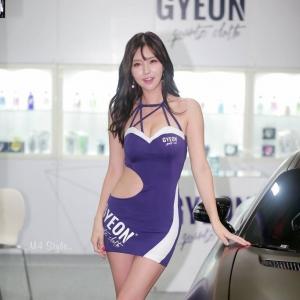 '레이싱모델 최별하' 쭉쭉뻗음 몸매