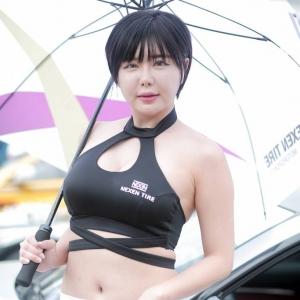 레이싱 모델 류지혜