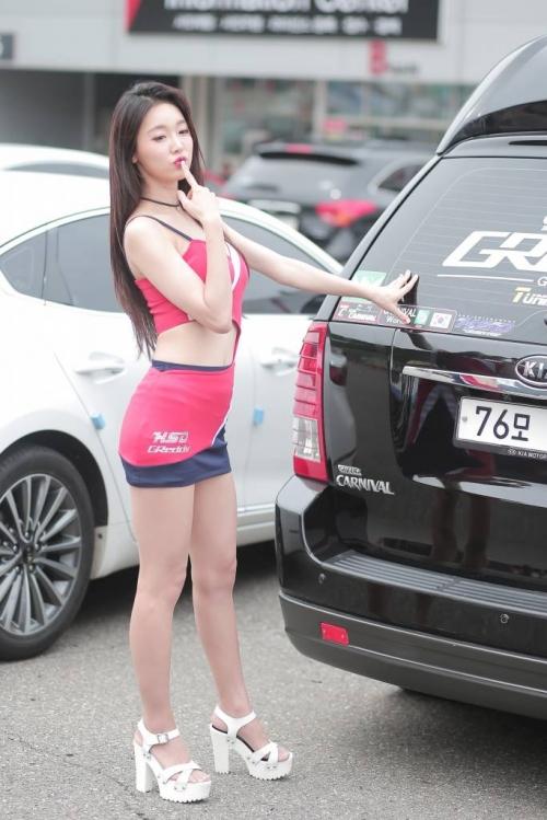 '레이싱모델 진유리' 빛나는 외모