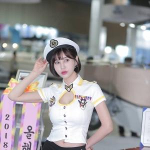 '레이싱모델 박소유' 아름다운 미소