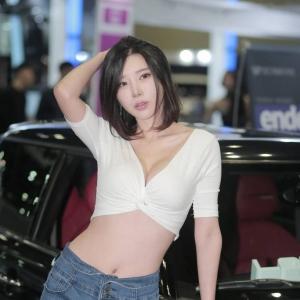 '레이싱모델 송주아' 도발적인 섹시미