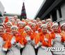 <strong>제주항공</strong> 신입승무원들의 크리스마스 인사