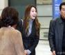 류현진-배지현 '새가족과 함께 입국'