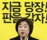 심상정, 선거법 개정안 통과 관련 간담회