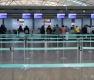 우한 폐렴 여파에 한산한 중국 항공사 발권 창구