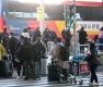 유럽발 승객들, 입국 뒤 임시생활시설 이동