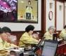 사회적 거리두기 실천하는 국무회의