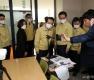 정세균 총리, 코로나19 대응 원격교육 현장 참관
