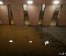 잠수교 통제, 비에 잠긴 한강공원