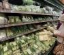 장마 영향에 채소 가격 급등