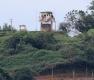 깃발 내려간 북한군 초소